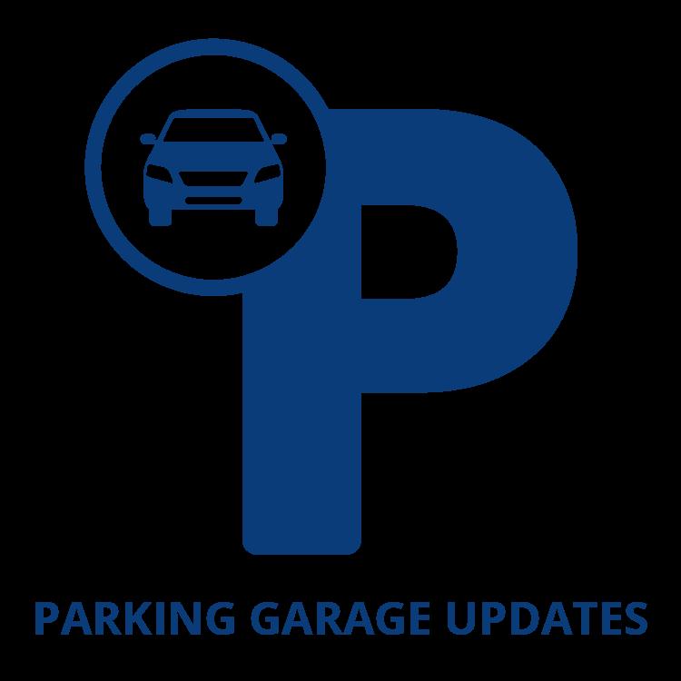 Main Street Management Parking Garage Icon
